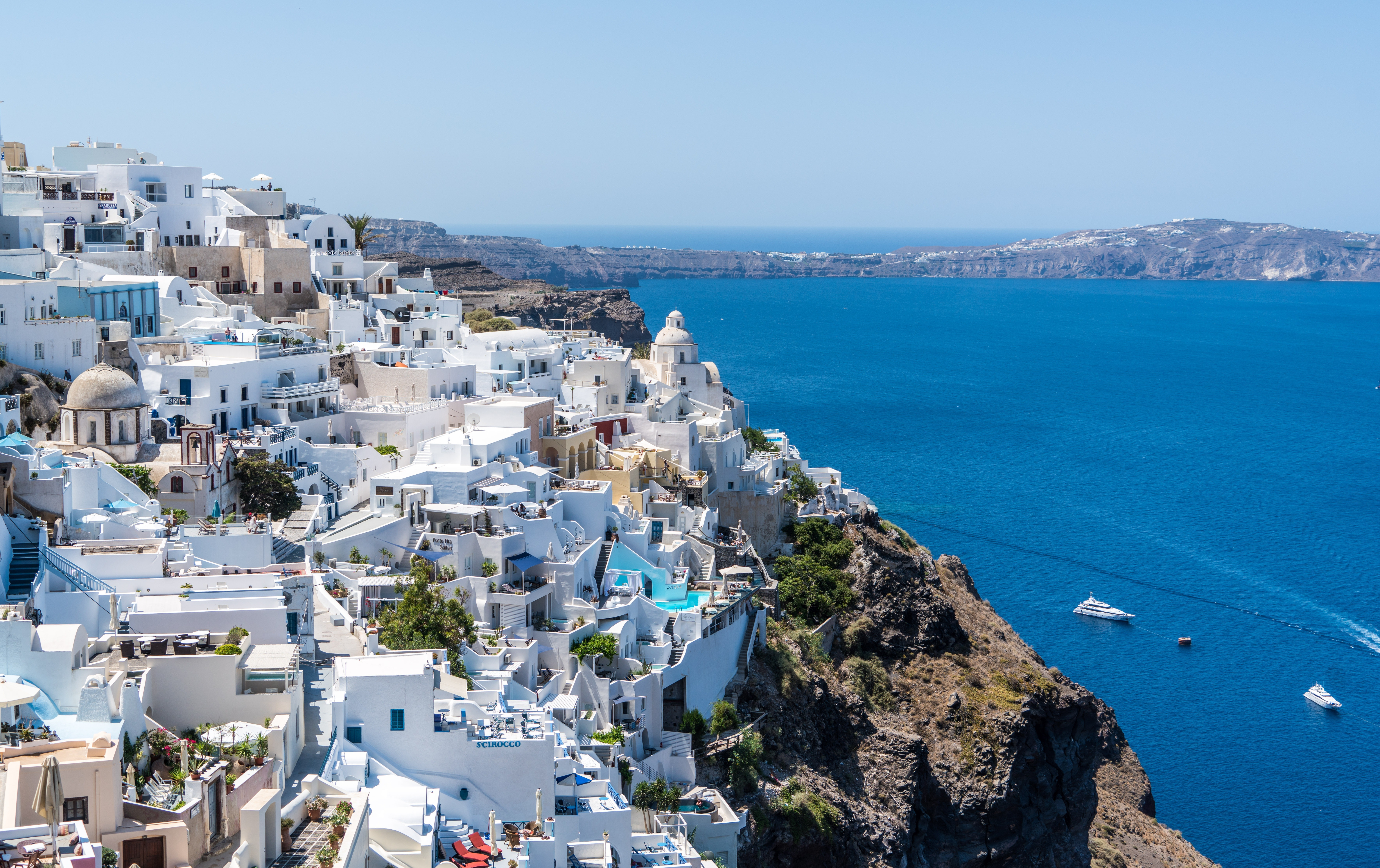 En ö i Grekland